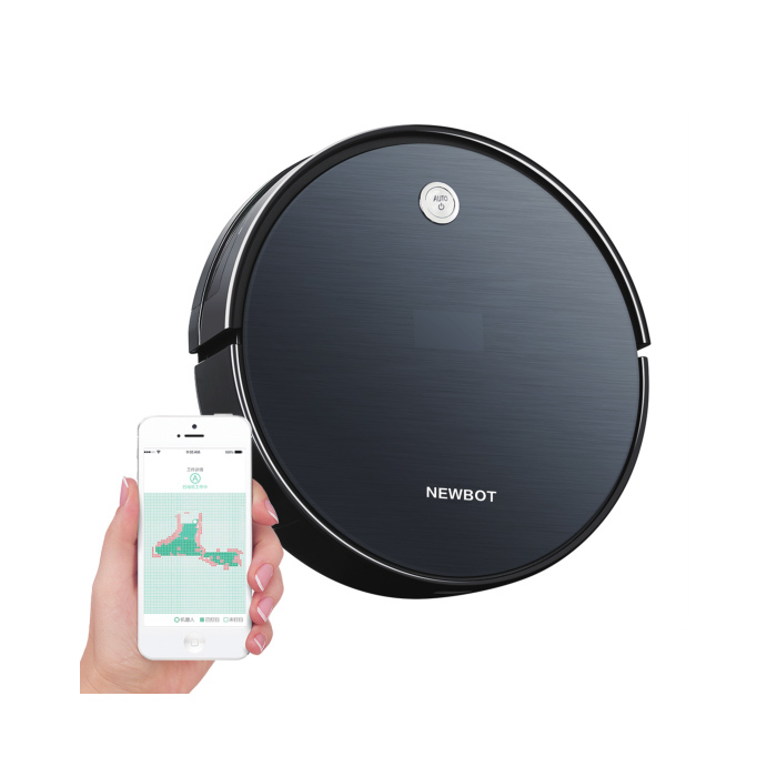 weifeng new smart robot vacuum with wifi control for housecleaning