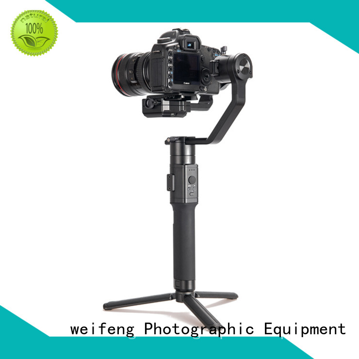 weifeng latest best camera stabilizer supply for youtube vlog