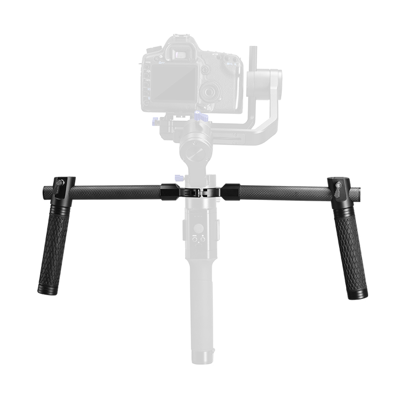 3 Way Camera DSLR Dual Grip Gimbal Handle For Video Vlog