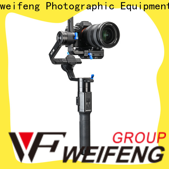weifeng best best camera gimbal manufacturers for youtube vlog