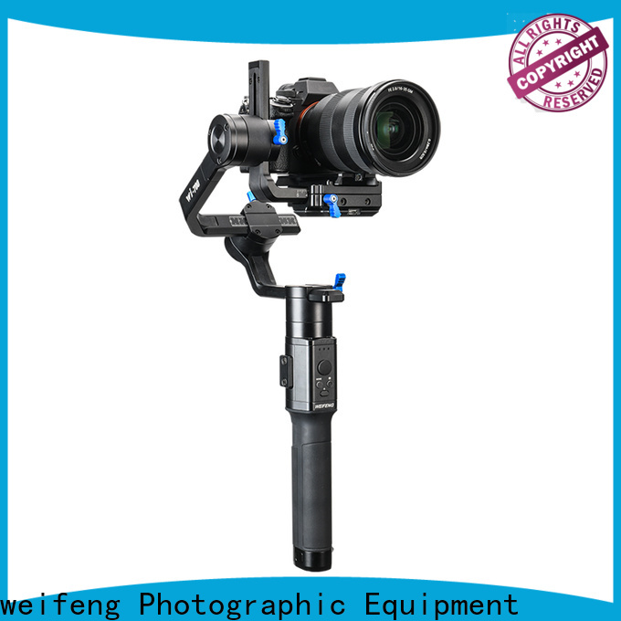 weifeng cheapest best camera gimbal supply for youtube vlog
