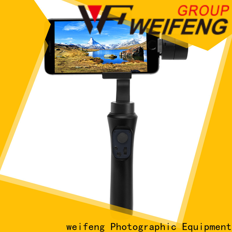 weifeng best smartphone gimbal stabilizer supply for business