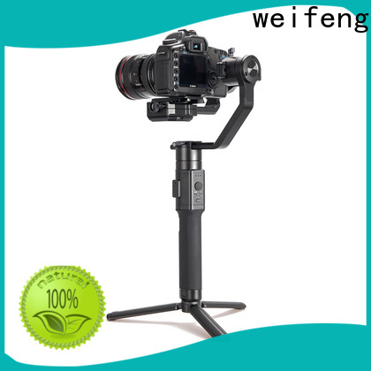 weifeng best best camera stabilizer supply for youtube vlog