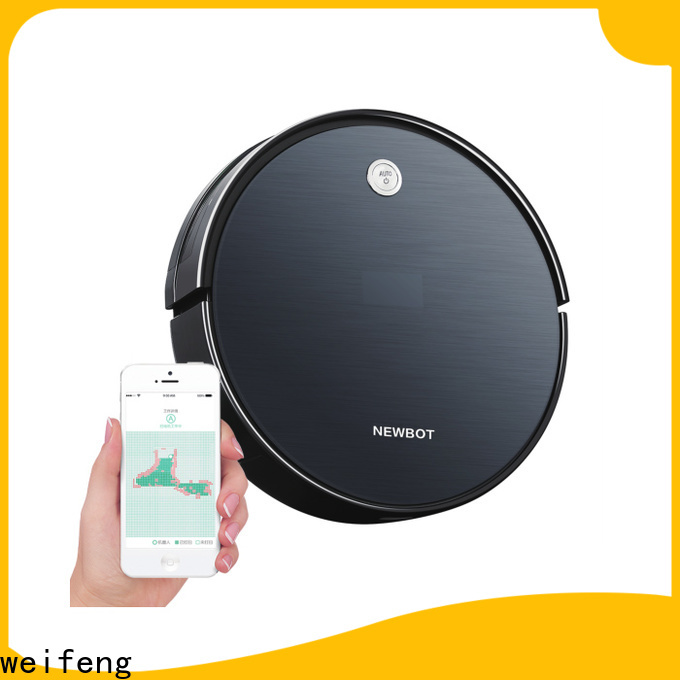weifeng intelligent best automatic vacuum cleaner with wifi control for house